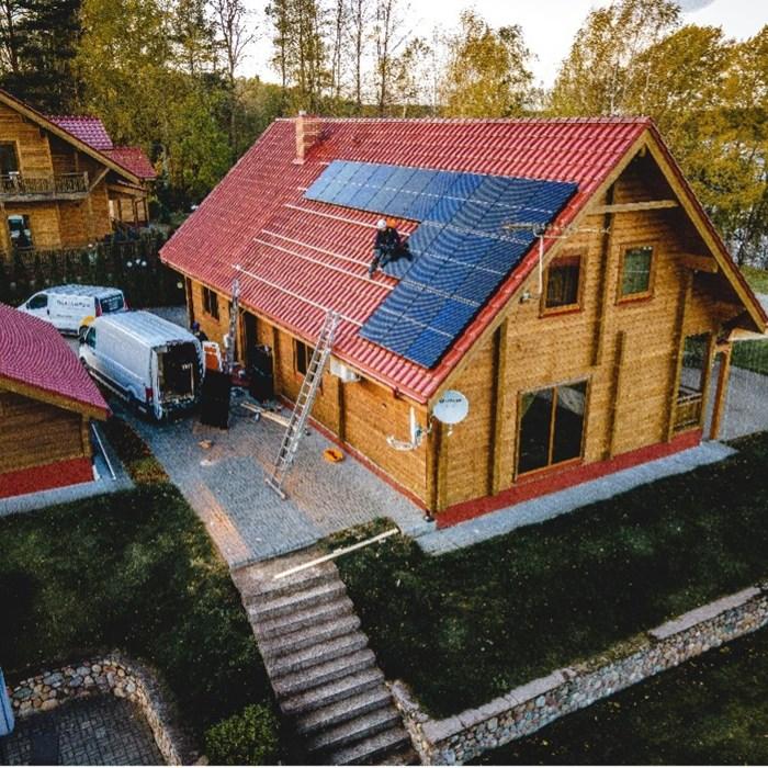 Nuosava saulės elektrinė jau šiandien: dėliojame pliusus