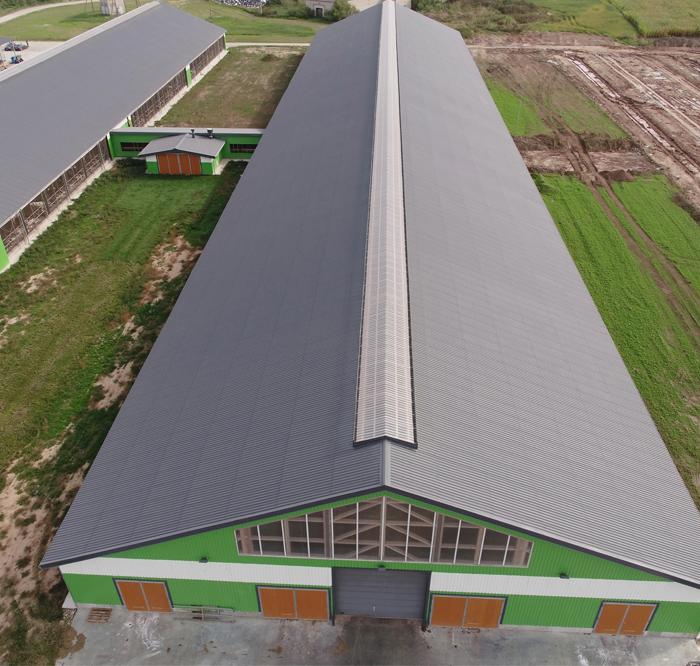 Looma- ja linnukasvatajad eelistavad laineplaadist katuseid