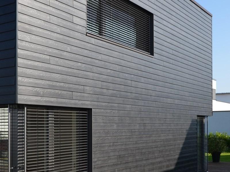 Fassadenpaneele aus Faserzement: Eternit im Wandel. Beispiel eines Cedral-Projekts: Einfamilien Neu-Ulm