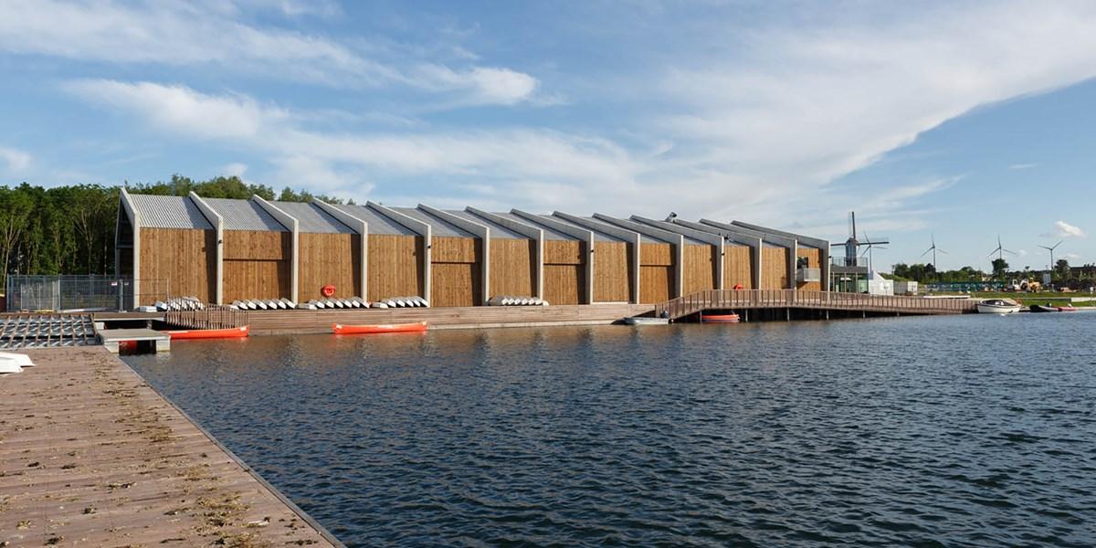 Freizeitzentrum in Harelbeke, Belgien