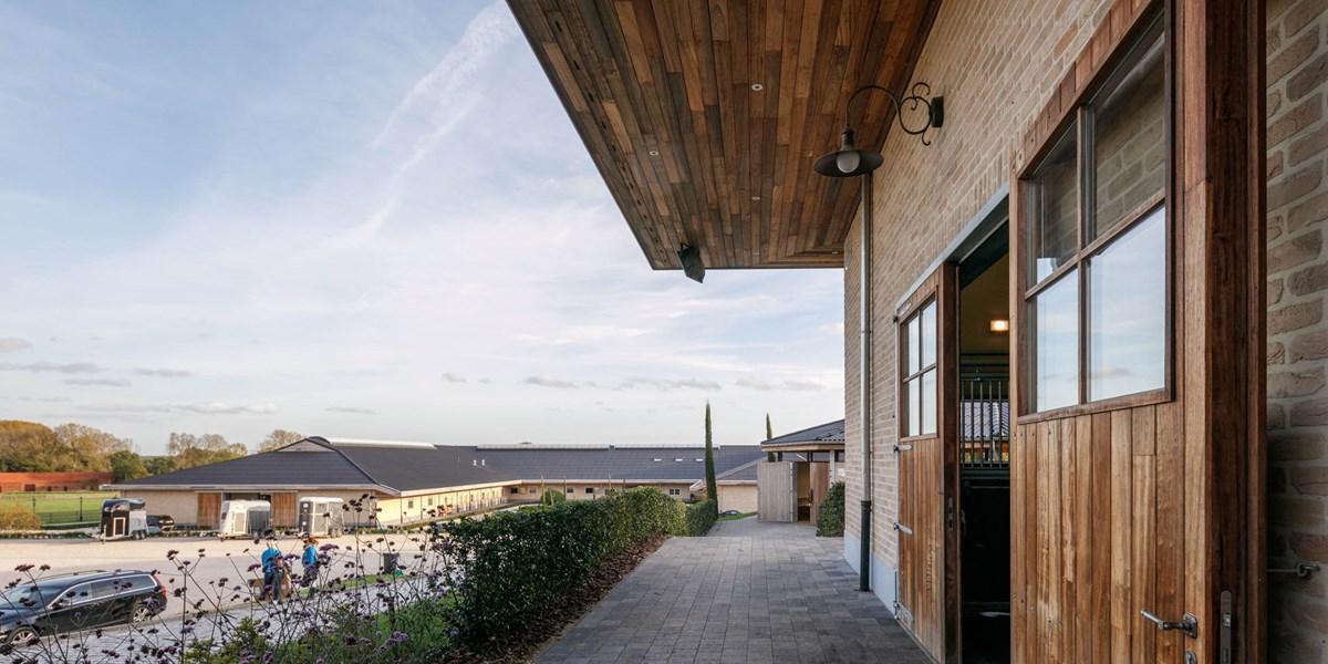 Pferdestall in Meldert, Belgien