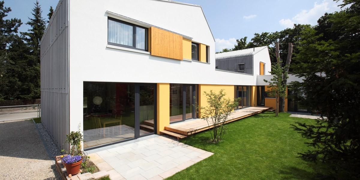moderne Fassadenverkleidung
