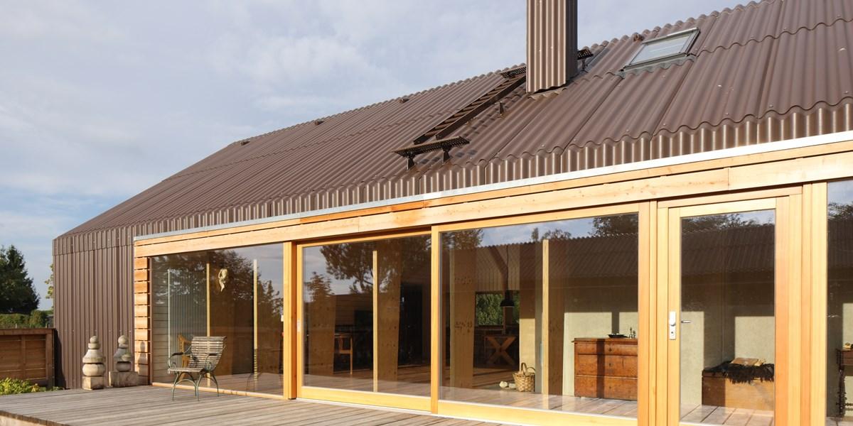 moderne Dacheindeckung