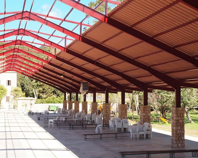Monasterio Lluc | Bajo teja 190 Rústico Arcilla